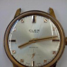 Relojes de pulsera: BONITO RELOJ CLER. Lote 48567384