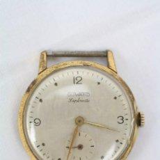 Relojes de pulsera: CAJA DE RELOJ DE PULSERA DUWARD DIPLOMATIC - MOVIMIENTO MANUAL - FUNCIONANDO - MEDIDAS 34 MM DIÁM. Lote 48628482