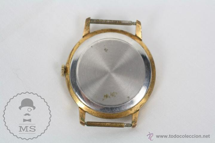 Relojes de pulsera: Caja de Reloj de Pulsera Duward Diplomatic - Movimiento Manual - Funcionando - Medidas 34 Mm Diám - Foto 5 - 48628482