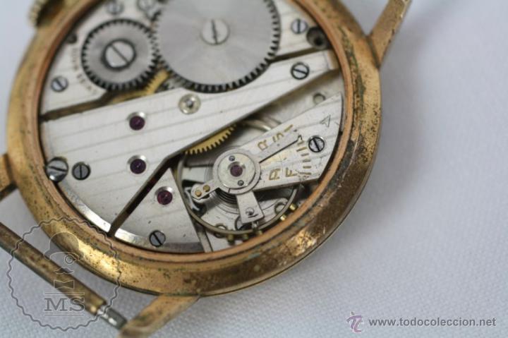 Relojes de pulsera: Caja de Reloj de Pulsera Duward Diplomatic - Movimiento Manual - Funcionando - Medidas 34 Mm Diám - Foto 8 - 48628482