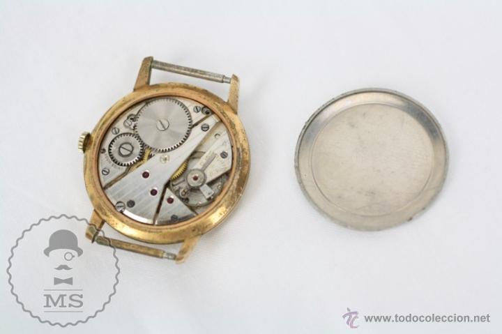Relojes de pulsera: Caja de Reloj de Pulsera Duward Diplomatic - Movimiento Manual - Funcionando - Medidas 34 Mm Diám - Foto 10 - 48628482