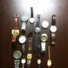 Relojes de pulsera: TREMENDO LOTE DE 12 RELOJES DE PULSERA - SEÑORA Y CABALLERO - GRAN OPORTUNIDAD - . Lote 48886023