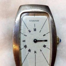 Relojes de pulsera: RELOJ PULSERA RADIANT SWISS MADE. CARGA MANUAL. EN FUNCIONAMIENTO. VER. Lote 48975416