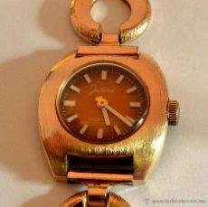 Relojes de pulsera: MAGNÍFICO RELOJ JUSTINA , MUJER, VINTAGE, 17 RUBÍS. Lote 49000267
