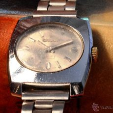 Relojes de pulsera: RELOJ CAUNY PRIMA, VINTAGE, ACERO, PARA MUJER. Lote 49049582
