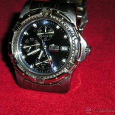Relógios de pulso: MAGNIFICO RELOJ LOTUS EN ACERO DE CUARZO. Lote 49102452