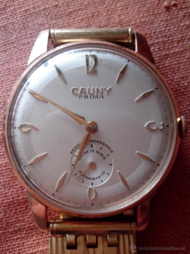 EXTRAORDINARIO RELOJ CAUNY PRIMA (Relojes - Pulsera Carga Manual)