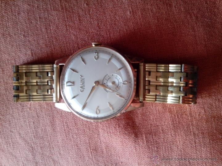 Relojes de pulsera: Extraordinario Reloj Cauny Prima - Foto 2 - 49103735