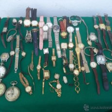 Relojes de pulsera: 55 RELOJES DE PULSERA CABALLERO Y SEÑORAS. Lote 49334899