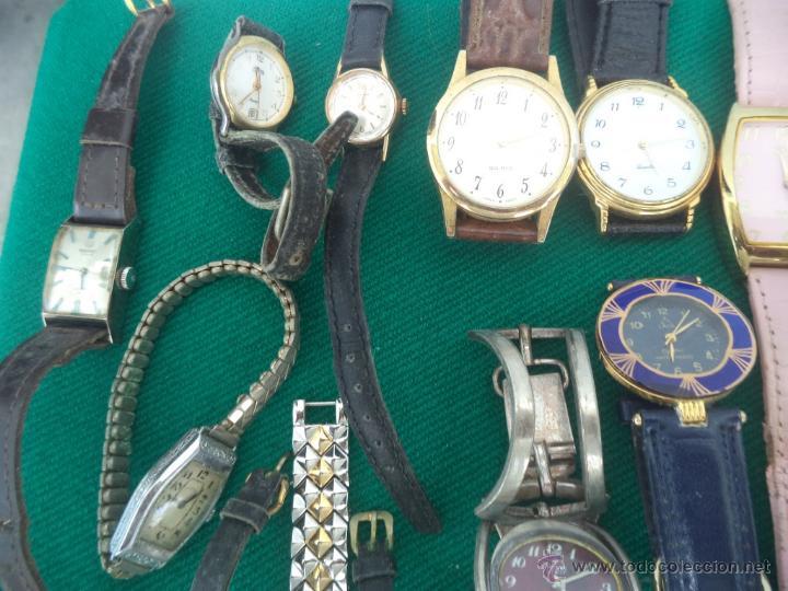 Relojes de pulsera: 55 relojes de pulsera caballero y señoras - Foto 2 - 49334899