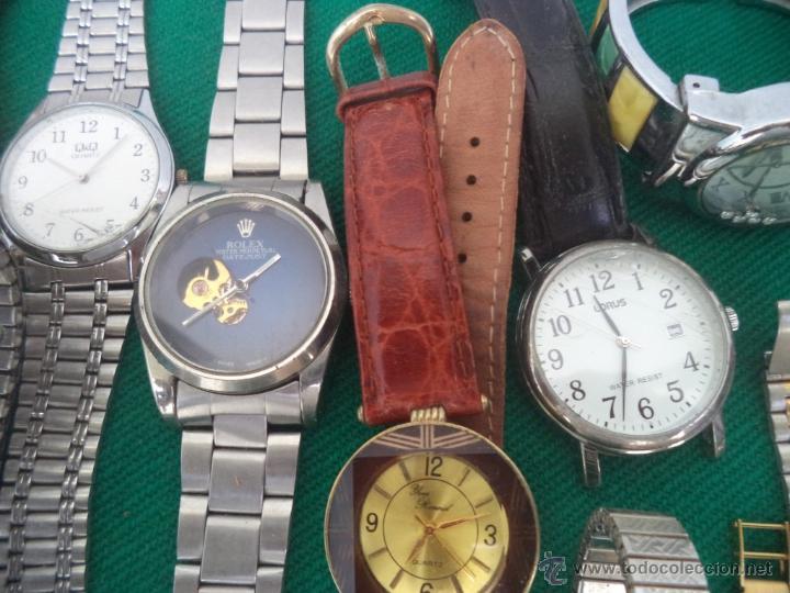 Relojes de pulsera: 55 relojes de pulsera caballero y señoras - Foto 3 - 49334899