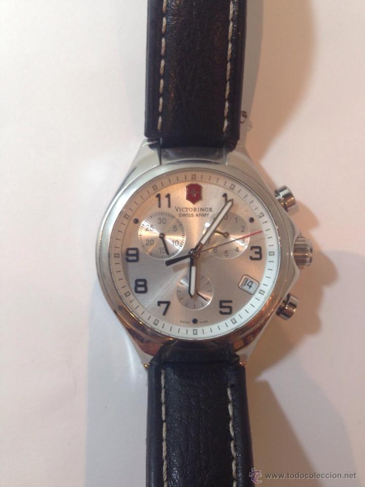 9300c7973fe7 Relojes de pulsera  Victorinox Swiss Army - Reloj cronógrafo de cuarzo para  hombre con correa