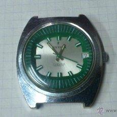 Relojes de pulsera: RELOJ DE CUERDA DE LA MARCA FESTINA 17 JEWELS INCABLOC,, ANDA Y SE PARA,, PRECISA LIMPIEZA. Lote 49502084