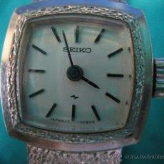 Relojes de pulsera: RELOJ DE SEÑORA CARGA MANUAL SEIKO. FUNCIONA. Lote 49701842