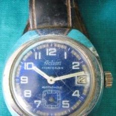 Relojes de pulsera: RELOJ DE CABALLERO ACTION CARGA MANUAL. FUNCIONA. Lote 49701978
