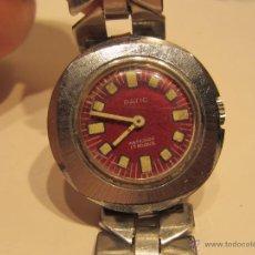 Relojes de pulsera: RELOJ PULSERA DE SEÑORA ESFERA ROJA . Lote 49714268