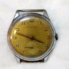 Relojes de pulsera: RELOJ PULSERA CABALLERO TITAN, 15 RUBIS. NO FUNCIONA, VER. Lote 49766907