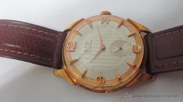 Relojes de pulsera: Dogma Caballero 40mm, años 60. - Foto 3 - 49890165