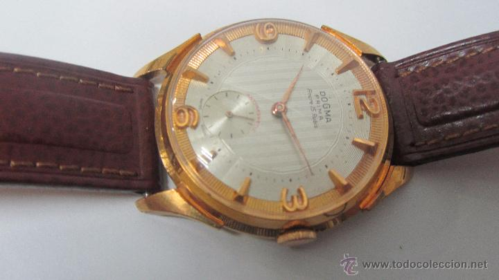 Relojes de pulsera: Dogma Caballero 40mm, años 60. - Foto 4 - 49890165