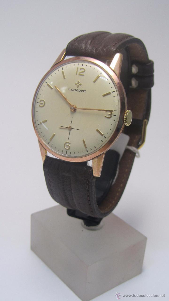 RELOJ SUIZO CORTEBERT AÑOS 50 (Relojes - Pulsera Carga Manual)