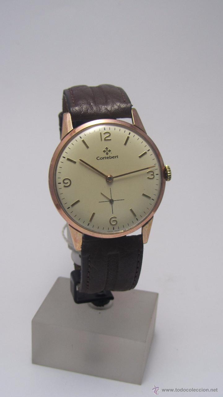 Relojes de pulsera: Reloj suizo Cortebert años 50 - Foto 2 - 49919064