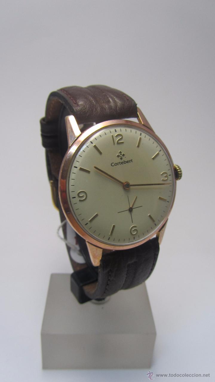 Relojes de pulsera: Reloj suizo Cortebert años 50 - Foto 3 - 49919064