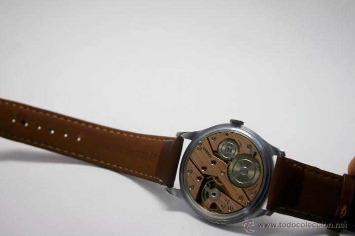 Relojes de pulsera: Reloj caballero suizo Kardex años 40/50. - Foto 6 - 49935667