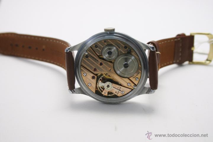 Relojes de pulsera: Reloj caballero suizo Kardex años 40/50. - Foto 7 - 49935667