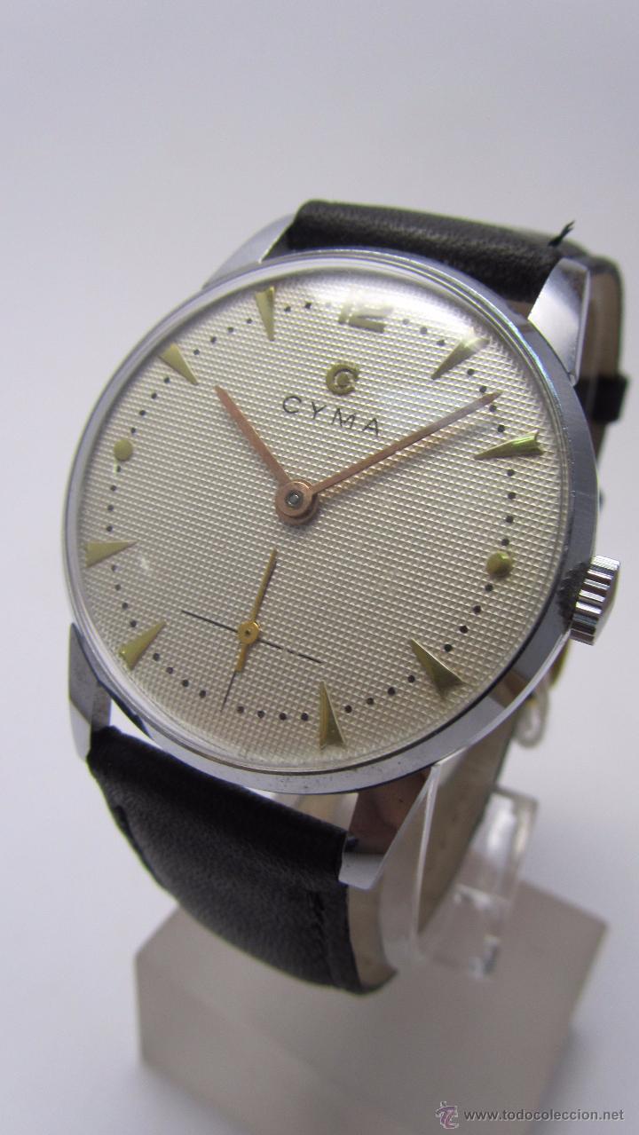 RELOJ CABALLERO MARCA CYMA AÑOS 40/50. (Relojes - Pulsera Carga Manual)