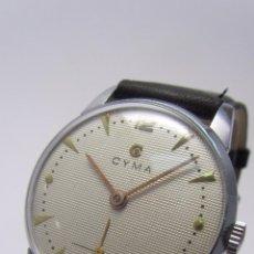 Relojes de pulsera: RELOJ CABALLERO MARCA CYMA AÑOS 40/50.. Lote 49941755