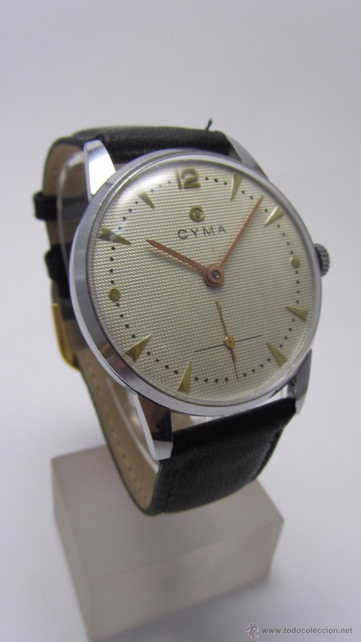 Relojes de pulsera: Reloj caballero marca Cyma años 40/50. - Foto 2 - 49941755