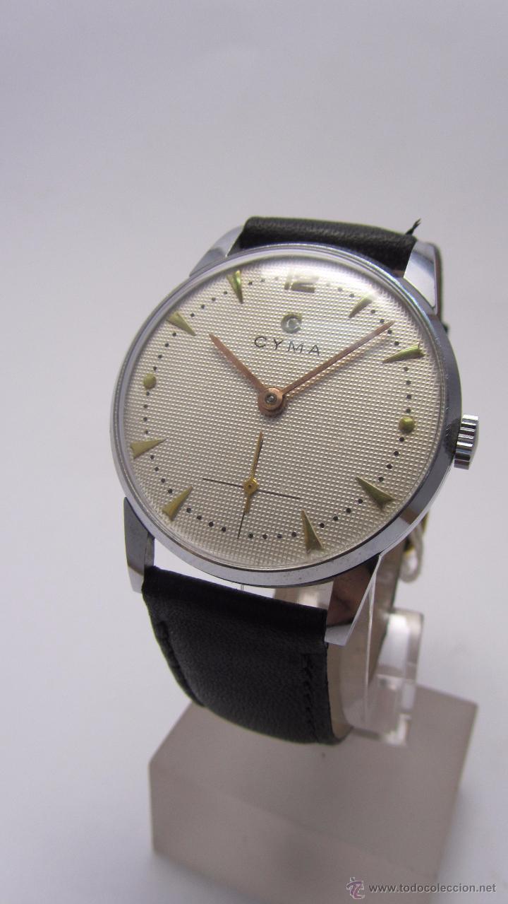 Relojes de pulsera: Reloj caballero marca Cyma años 40/50. - Foto 3 - 49941755