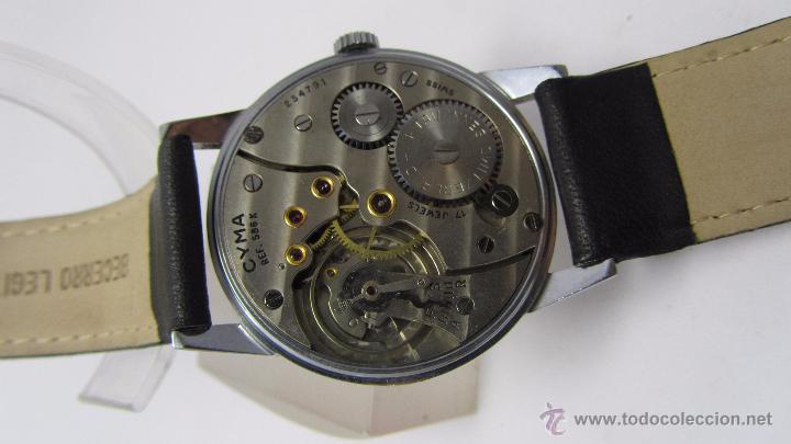 Relojes de pulsera: Reloj caballero marca Cyma años 40/50. - Foto 4 - 49941755