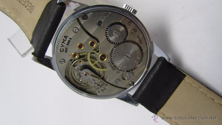 Relojes de pulsera: Reloj caballero marca Cyma años 40/50. - Foto 5 - 49941755