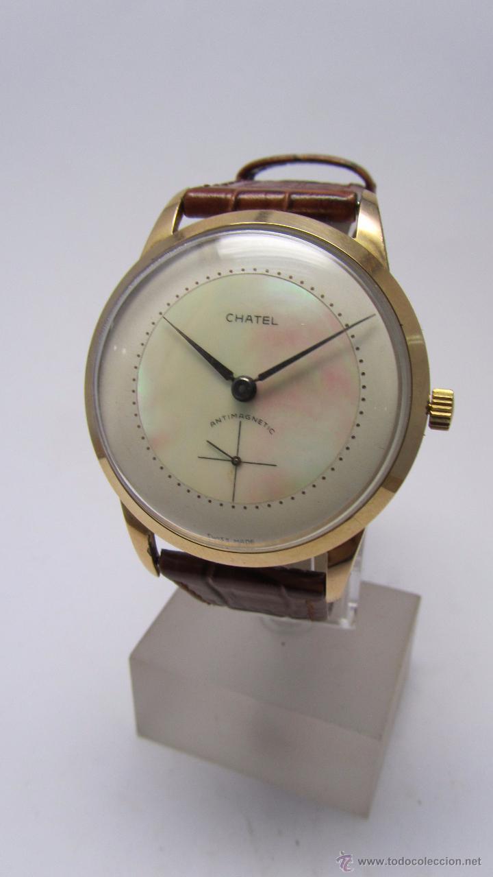 Relojes de pulsera: Reloj caballero Marca Chatel. - Foto 2 - 50019883