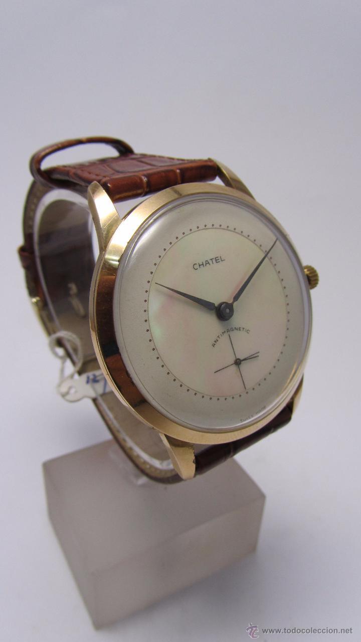Relojes de pulsera: Reloj caballero Marca Chatel. - Foto 3 - 50019883