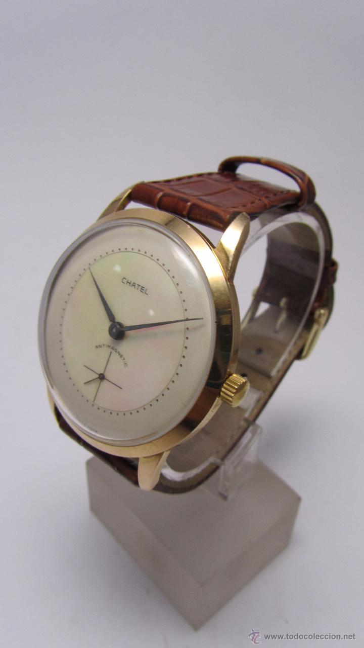 Relojes de pulsera: Reloj caballero Marca Chatel. - Foto 4 - 50019883