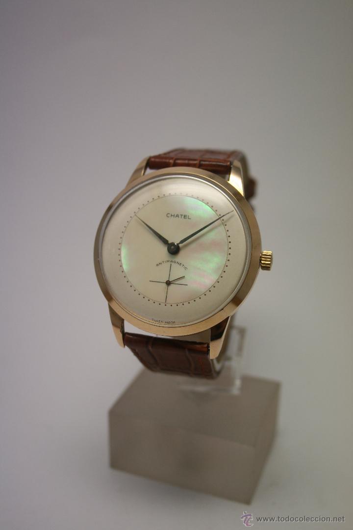 Relojes de pulsera: Reloj caballero Marca Chatel. - Foto 8 - 50019883