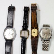Relojes de pulsera: LOTE DE 4 RELOJES DE PULSERA VARIADOS, 2 MARCA RADO Y OTRAS.. Lote 50098826