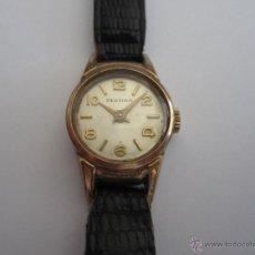 Relojes de pulsera: RELOG PULSERA FESTINA, 10 MICRONES ORO 15 RUBIES, SEÑORA. Lote 51967349