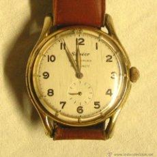 Relojes de pulsera: RELOJ SOGEOR ANCORA 15 RUBIS, FUNCIONA. MED. 38 MM SIN CONTAR CORONA. Lote 50491376