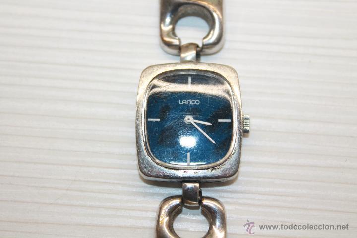 Relojes de pulsera: RELOJ LANCO, 17 JEWELS, INCABLOC, DE CUERDA, FUNCIONA - Foto 2 - 50656138