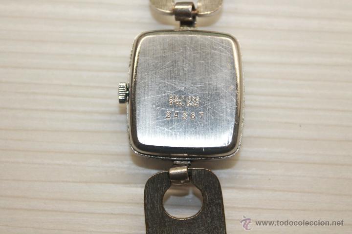 Relojes de pulsera: RELOJ LANCO, 17 JEWELS, INCABLOC, DE CUERDA, FUNCIONA - Foto 3 - 50656138