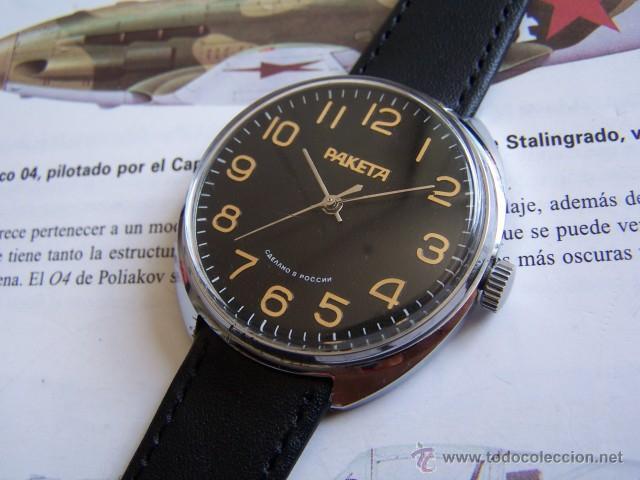 Ruso Reloj Directa En 50685818 Vendido Venta Raketa xoCdeB