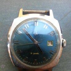 Relojes de pulsera: RELOJ AUTOMATICO 21 JEWELS FUNCIONANDO CUERDA MANUAL . Lote 50762639