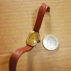 Relojes de pulsera: RELOJ ANTIGUO PLAQUE OR GARANTI 5 ANS GDR NO FUNCIONA. Lote 50775844