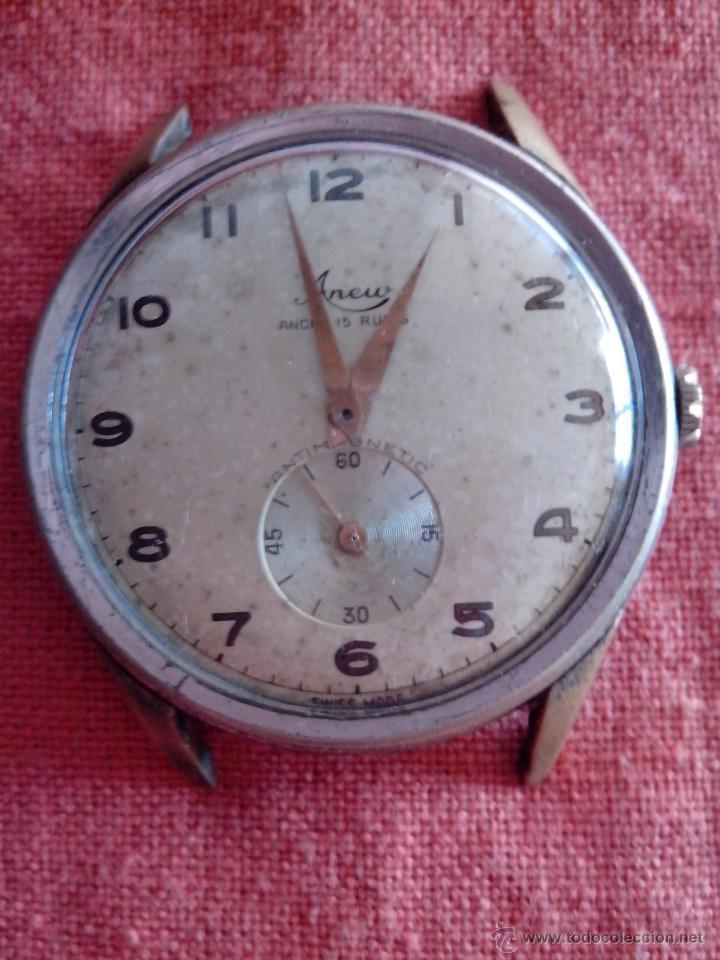 ENORME RELOJ ANEW (DIÁMETRO 40 MM.) (Relojes - Pulsera Carga Manual)