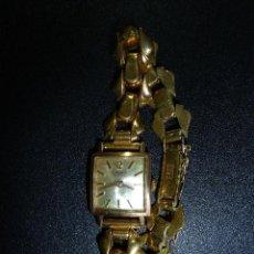 Relojes de pulsera: RELOJ DE PULSERA CHAPADO EN ORO CAUNY SPLENDID 17 RUBIS. Lote 51018575