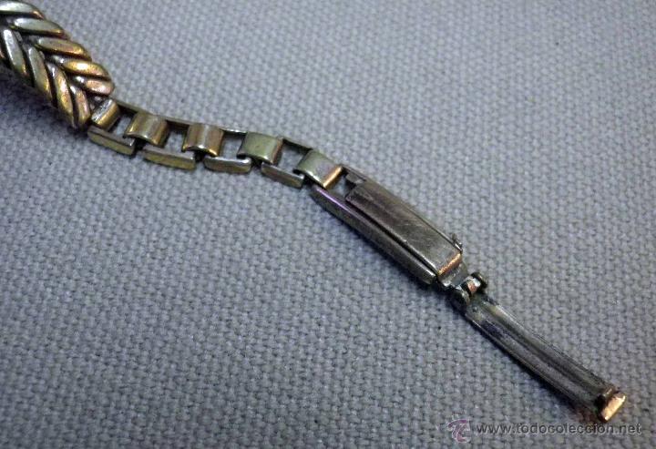Relojes de pulsera: ANTIGUO RELOJ DE PULSERA, DAMA, MARCA DUWARD, A REPARAR, CHAPADO EN ORO - Foto 7 - 51115417