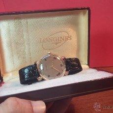 Relojes de pulsera: JOYA DE RELOJ LONGINES DE CABALLERO DEL AÑO 1923, EN ORO MACIZO DE 18K, PIEZA DE ALTA COLECCION. Lote 51493044